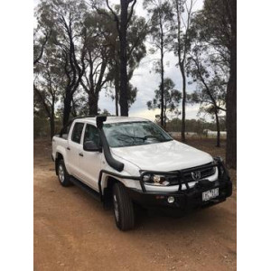 Amarok 2010+ Steel Side Steps & Rails