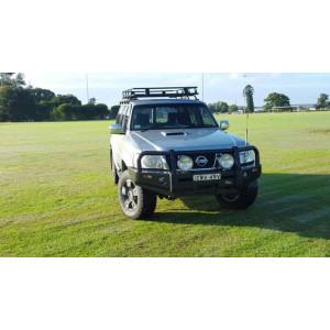Patrol GU S4+ 2005+ Premium Deluxe Bull Bar