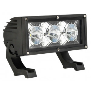 LED 3 x 10W Flood Beam Light bar