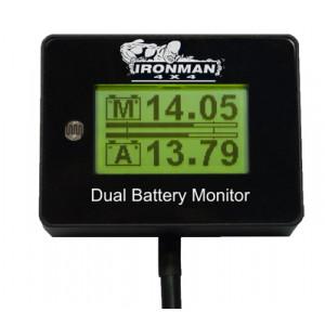 12v Dual Battery Monitor