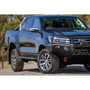 Steel Side Steps to suit Hilux Revo 2015+
